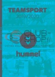 Catalogue Hummel Teamwear 2019 chez votre équipementier sportif CLUB-SHOP.FR