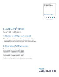LUXEON® Rebel - Philips Lighting