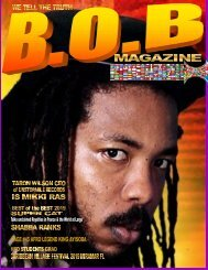 B.O.B Magazine June
