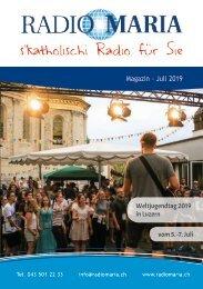 Radio Maria Magazin - Juli 2019