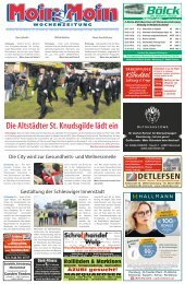 MoinMoin Schleswig 26 2019