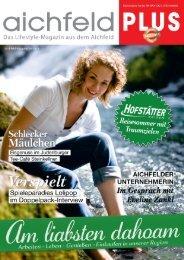Aichfeld Plus Magazin Juli 2019