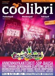 Juli/August 2019 - coolibri Oberhausen, Duisburg, Mülheim