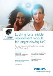 Looking for a reliable replacement module for ... - Philips Lighting