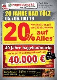 20 Jahre hagebaumarkt Bad Tölz