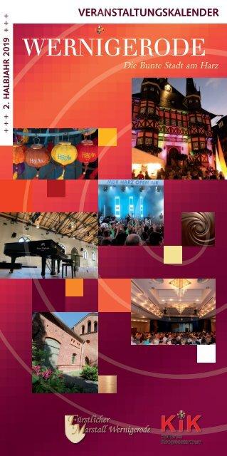 Veranstaltungskalender 2. Halbjahr 2019