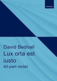 David Bednall Lux orta est iusto