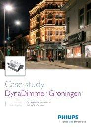 Case study Dynadimmer Groningen - Philips