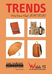 TRENDS Werbeartikel Katalog 2019/2020