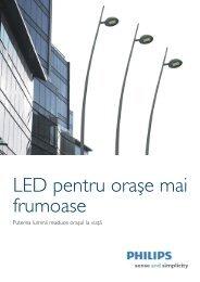 LED pentru oraşe mai frumoase - Philips Lighting