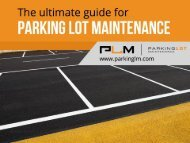 Affordable Parking Lot Maintenance in St Louis Mo
