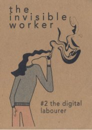 Issue 2 | The Digital Labourer | for issu