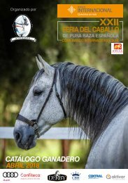 Catálogo Ganadero 2018
