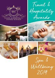 Travel & Hospitality Awards | Spa & Wellness | www.thawards.com