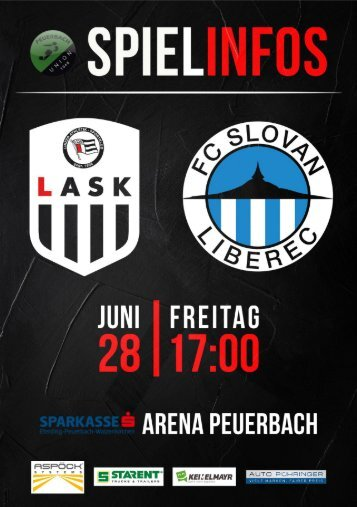 Folder LASK Linz - Slovan Liberec