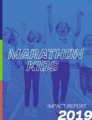 Marathon Kids Impact Report FY19