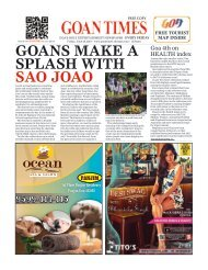 GoanTimes June 28,2019 Issue