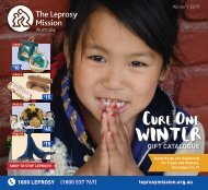Cure One Winter Catalogue