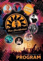 Tune Musikfestival 2019 - program