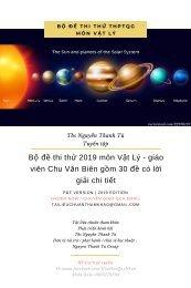 Bộ đề thi thử 2019 môn Vật Lý - giáo viên Chu Văn Biên gồm 30 đề có lời giải chi tiết