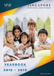 Yearbook AY 2018-2019 (Thonburi campus)