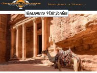Reasons to Visit Jordan