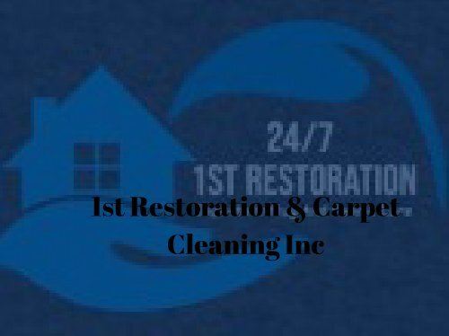 Sunrise Carpet Cleaning Services