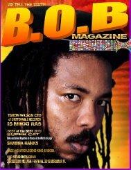 B.O.B Magazine June MIKKI RAS