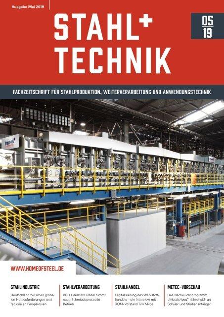 STAHL + TECHNIK 05/2019