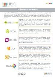 LIBIS - Valoriseer uw collecties