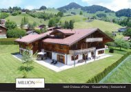 1660 Summer  Château-d'Oex Gstaad Valley Switzerland CHF7.5M