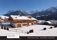 1660 Winter Château-d'Oex Gstaad Valley Switzerland CHF7.5M