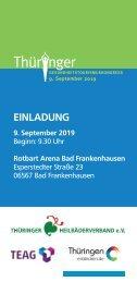 Thüringer Gesundheitstourismuskongress