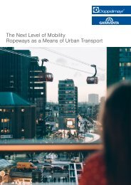 The Next Level of Mobility: Ropeways as Urban Means of Transport [EN]