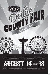 2019 Dodge County Fair Open Class Exhibit Book
