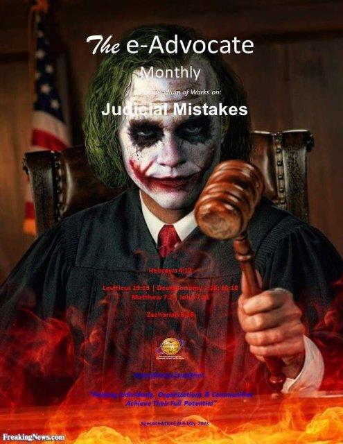 Judicial Mistakes
