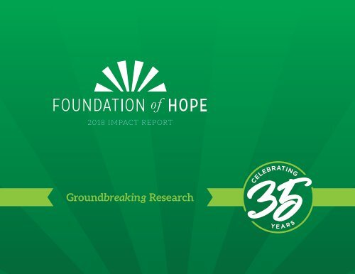 Foundation of Hope Impact Report