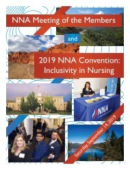 2019 NV Nurses Association Yearbook