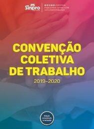 Convenção Coletiva de Trabalho 2019-2020