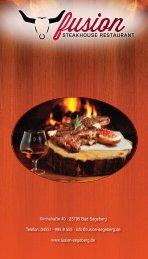 FUSION Steakhouse Restaurant