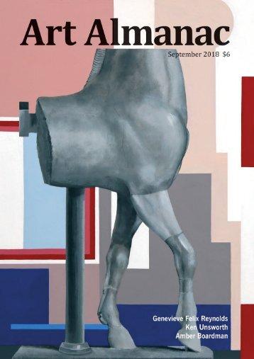 Genevieve Felix-Reynolds  Art Almanac, September 2018