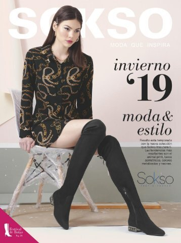Sokso - Calzado Invierno 19