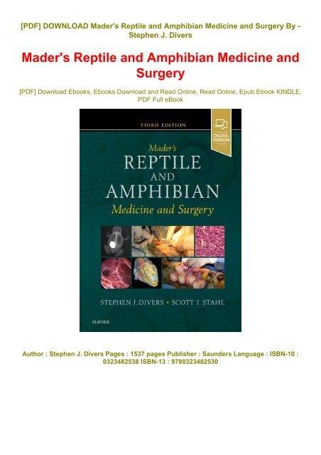 Vet Tech Surgery Manual Ebook