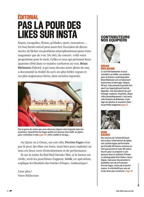The Red Bulletin Juillet 2019