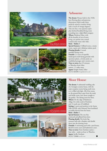 Surrey Homes | SH57 | July 2019 | Summer supplement inside