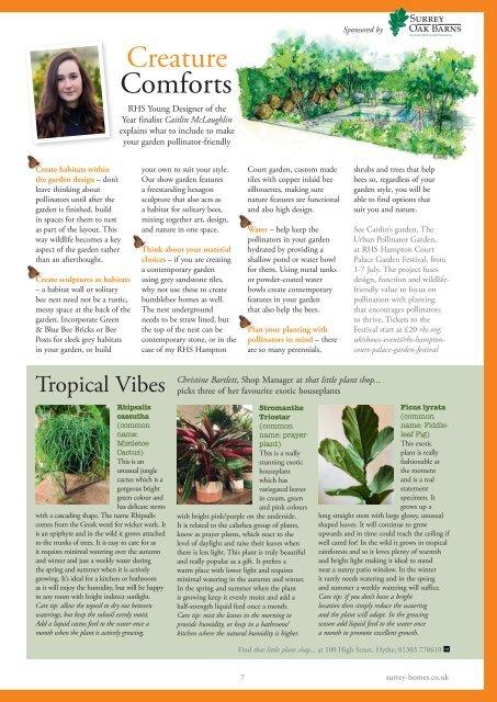 Surrey Homes | SH57 | July 2019 | Summer supplement inside