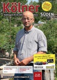 Kölner Süden Magazin Juli 2019