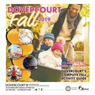 DOVERCOURT FALL 2019 program guide