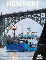 Living and Doing Business in Newport Oregon