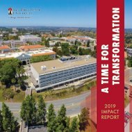 2019 Impact Report: SDSU College of Education